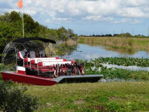 airboat ready for adventure in Panama City Beach FL