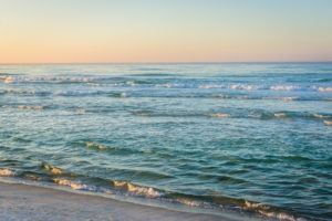 beautiful photo of Panama City Beach at sunrise